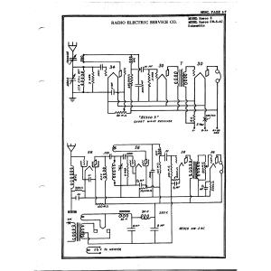 Radio Electrical Service Co. Resco SW-5-AC