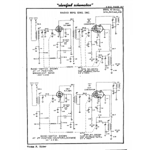 Radio Mfg. Engineers, Inc. 45B