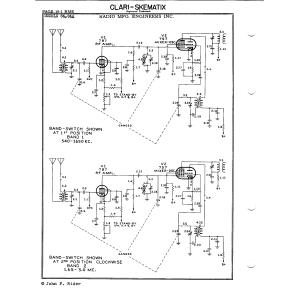 Radio Mfg. Engineers, Inc. 84A