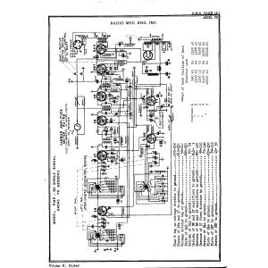 Radio Mfg. Engineers, Inc. 9D