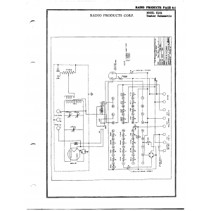 Radio Products Corp. 3151