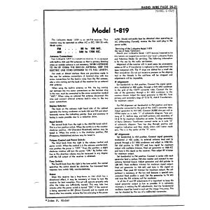 Radio Wire Television 1-819