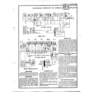 Radiobar Company of America 210-B