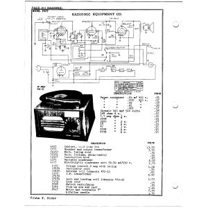 Radionic Equipment Co. 240T