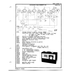 Radionic Equipment Co. 35P
