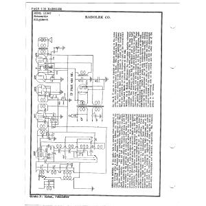 Radolek Co. 11947