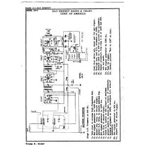 Ray-Energy Radio & Telev. Corp. AD-4