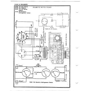 Readrite Meter Works 407 Tube Tester