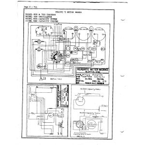 Readrite Meter Works 550 Oscillator