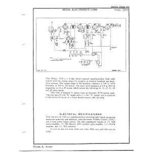 Regal Electronics Corp. 1500