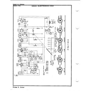 Regal Electronics Corp. 1749