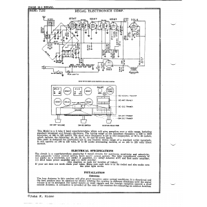Regal Electronics Corp. 7152