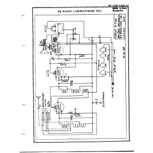 R.K. Radio Laboratories, Inc. 4-Tube