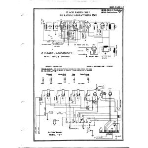 R.K. Radio Laboratories, Inc. Radopchron B