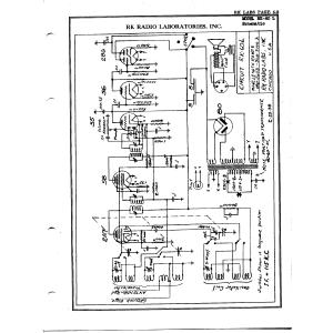 R.K. Radio Laboratories, Inc. RK-60 L