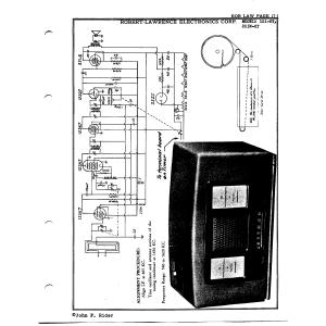Robert-Lawrence Electronics Corp. 101-6T
