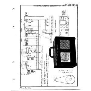 Robert-Lawrence Electronics Corp. 102-L-6T