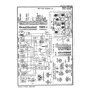 Sea Pal Radio Co. Radio Compass