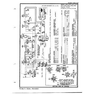 Sears Roebuck & Co. 100150 Chassis