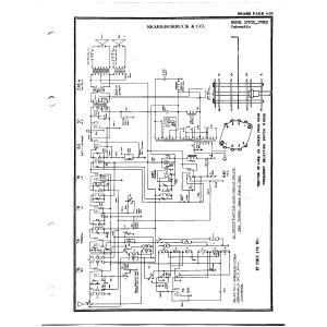 Sears Roebuck & Co. 1722X