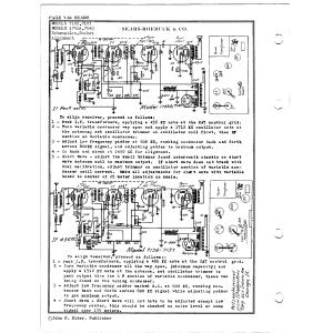 Sears Roebuck & Co. 1743A