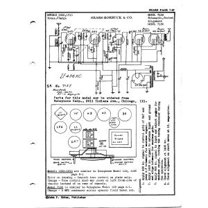 Sears Roebuck & Co. 1900