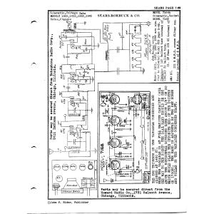 Sears Roebuck & Co. 1922