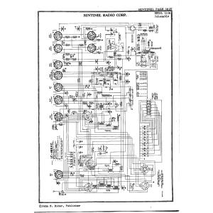Sentinel Radio Corp. 110A
