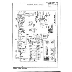 Sentinel Radio Corp. 125AE