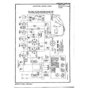 Sentinel Radio Corp. 128B