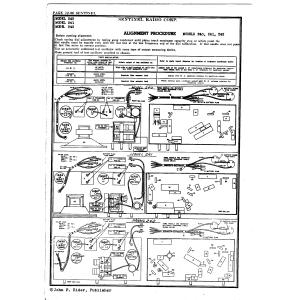 Sentinel Radio Corp. 242