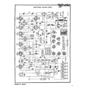 Sentinel Radio Corp. 269F
