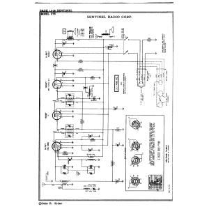 Sentinel Radio Corp. 275