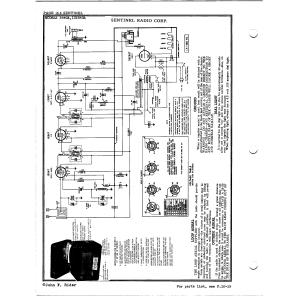 Sentinel Radio Corp. 284GA