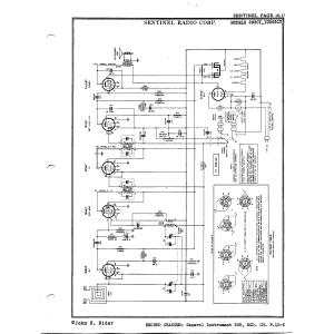 Sentinel Radio Corp. 293CT
