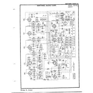 Sentinel Radio Corp. 296-M