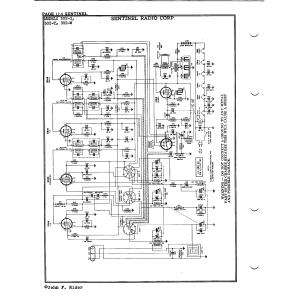 Sentinel Radio Corp. 302-W