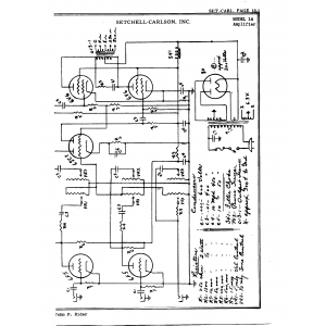 Setchell Carlson, Inc. 14 Amplifier