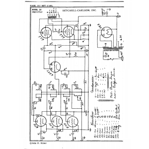 Setchell Carlson, Inc. 26 Amplifier