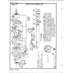 Signal Electronics, Inc. 341T
