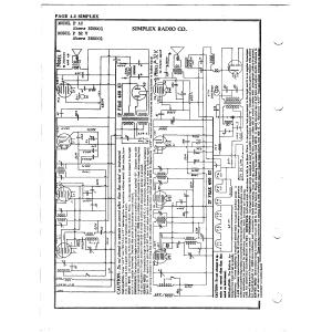 Simplex Radio Co. P 32 V