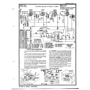 Sonora Radio & Telev., Corp. AU-10