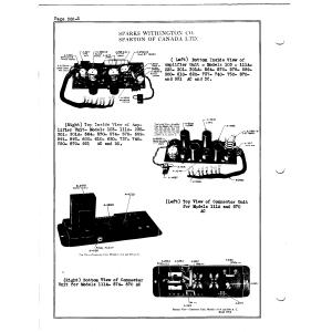 Sparks-Withington Co. 103 Amplifier Unit