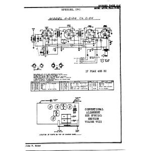 Speigel, Inc. A2104