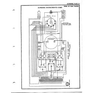 Supreme Instruments Corp. 40 Tube Checker