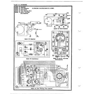 Supreme Instruments Corp. 62 Tube Testing Unit
