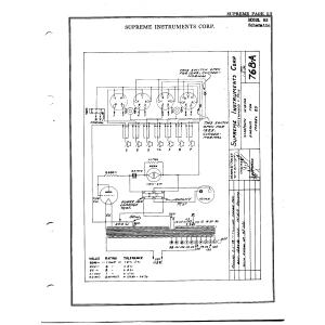 Supreme Instruments Corp. 85