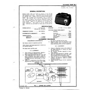 Sylvania Electric Products 1-250