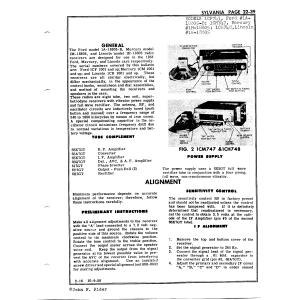 Sylvania Electric Products 1CM747