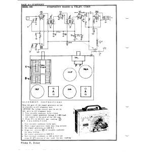 Symphony Radio & Telev. Corp. 260